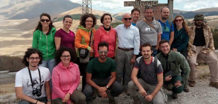Intervista al gruppo di lavoro dello Stage di rilevamento geomorfologico AIGeo