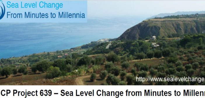IGCP Project 639 – Sea Level Change from Minutes to Millennia – Third Annual Meeting: September 16th-23rd 2018