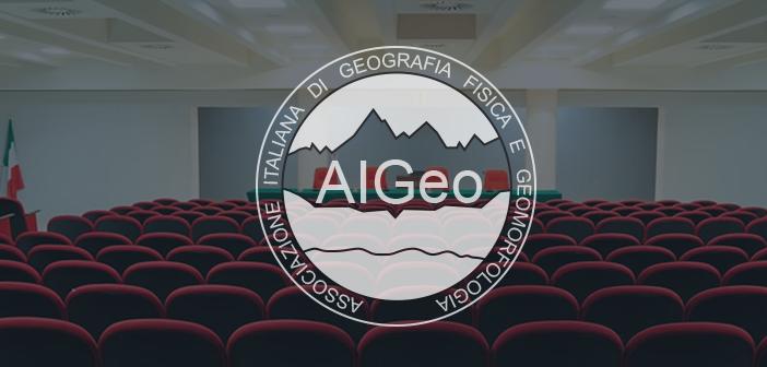 IV Convegno Nazionale AIGeo – LA GEOMORFOLOGIA DEL NUOVO MILLENNIO