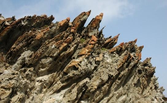 Selective erosion (Stintino, Sardinia)