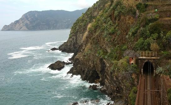 Rock sea-cliff (Cinque Terre, Liguria)