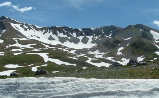 Glacial cirque (Campo Imperatore, Abruzzo)